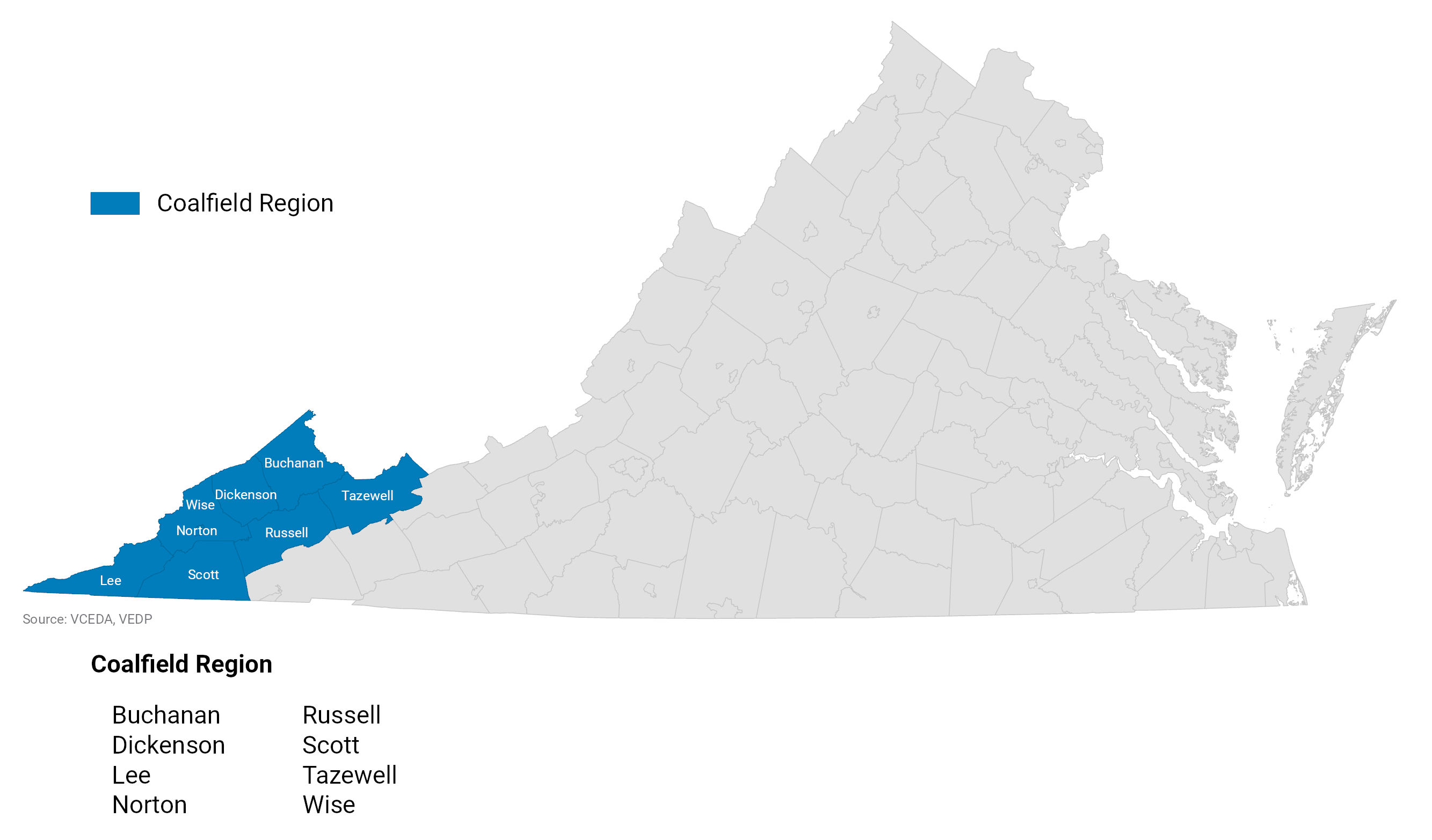 Coalfield Region