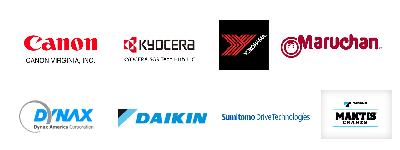 Japanese Companies in Virginia