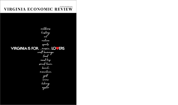 Virginia Economic Review cover Q4 2020
