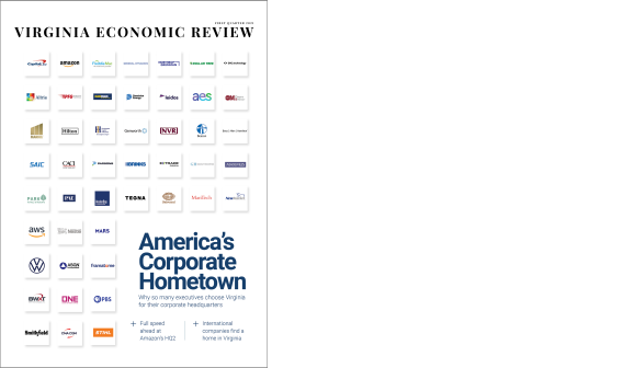 Virginia Economic Review cover Q1 2021