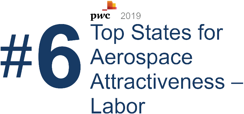 Virginia is a top state for aerospace attractiveness