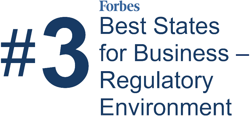 Virginia is 3 best state for business regulatory environment